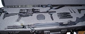 Gun Travel Case Illustration