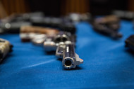 The cost of U.S. gun violence was as much as $174 billion in 2010, according to an analysis by the Pacific Institute for Research and Evaluation, an organization that conducts studies tied to public health. Photographer: Andrew Burton/Getty Images