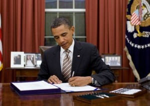 On Monday night, President Barack Obama signed a bill extended the Undetectable Firearms Act another decade. Image courtesy the White House